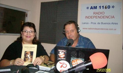 Primer presentación de la 2da edición de Cuentos Siniestros por Radio Independencia